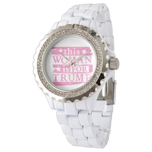 Woman for TRUMP Watch