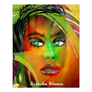 Woman from Barbados Poster