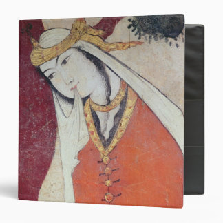 Woman from the Court of Shah Abbas I, 1585-1627 Vinyl Binders