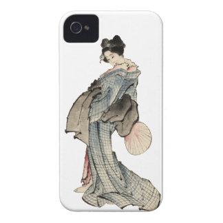 Woman, full-length portrait iPhone 4 cases