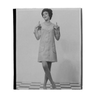 Woman Gesturing iPad Folio Covers