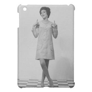 Woman Gesturing iPad Mini Cover