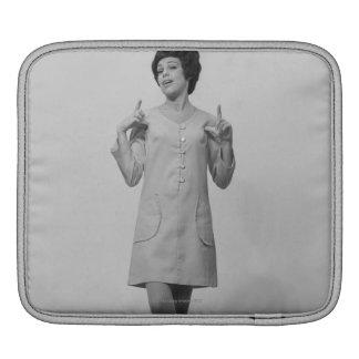 Woman Gesturing iPad Sleeve