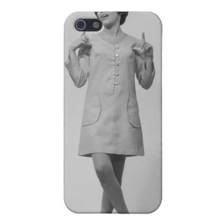 Woman Gesturing iPhone SE/5/5s Cover