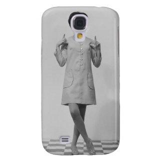 Woman Gesturing Samsung Galaxy S4 Case