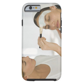 Woman getting beauty mud mask tough iPhone 6 case