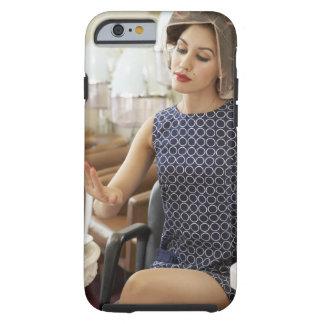 Woman Getting Manicure Tough iPhone 6 Case