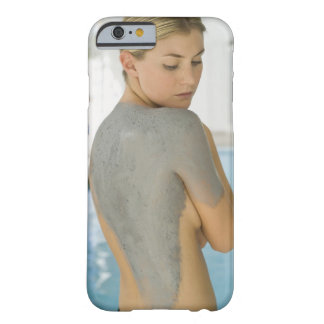 Woman getting spa skin treatment barely there iPhone 6 case