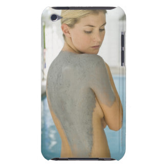Woman getting spa skin treatment Case-Mate iPod touch case