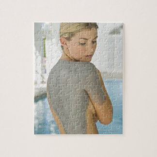 Woman getting spa skin treatment jigsaw puzzle