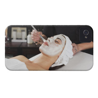 Woman Getting Spa Treatment. Case-Mate iPhone 4 Case