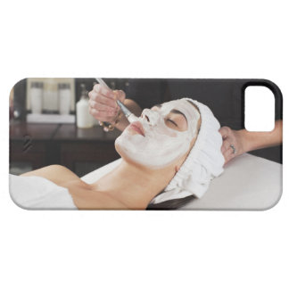 Woman Getting Spa Treatment. iPhone SE/5/5s Case