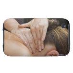 Woman getting spa treatment tough iPhone 3 case