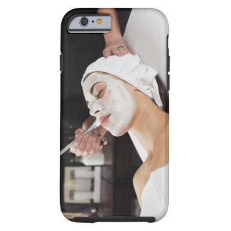 Woman Getting Spa Treatment. Tough iPhone 6 Case
