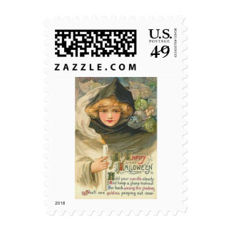 Woman Goblins Postage
