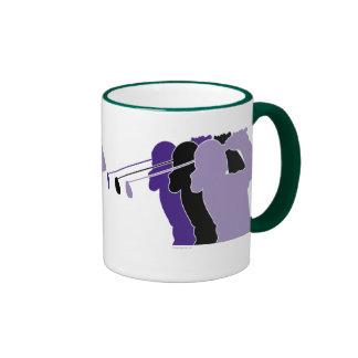 Woman Golfer Mugs