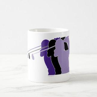 Woman Golfer Coffee Mug