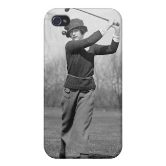 Woman Golfing, 1920s Cover For iPhone 4