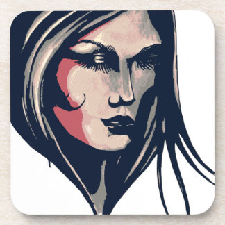 Woman Graphic Coaster