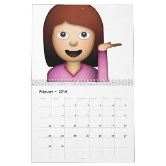 Woman Hand Gesture - Emoji Calendar