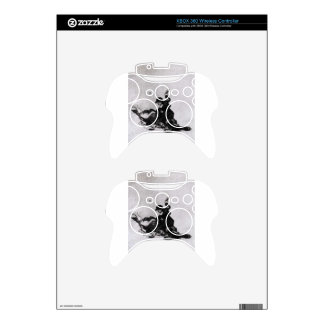Woman Hitting Another Woman with a Shoe Francisco Xbox 360 Controller Decal