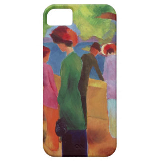 Woman in a Green Jacket, 1913 iPhone SE/5/5s Case