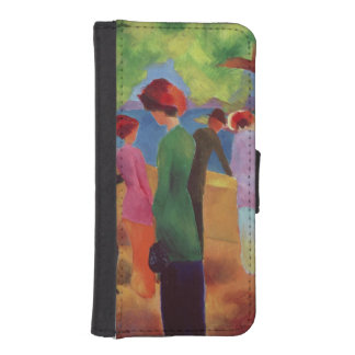 Woman in a Green Jacket, 1913 iPhone SE/5/5s Wallet