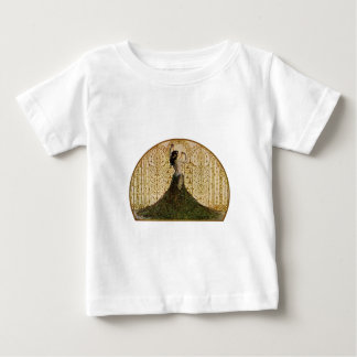 Woman in a Peacock Skirt Baby T-Shirt