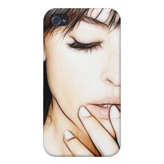 WOMAN IN BEAUTY iPhone 4 CASES