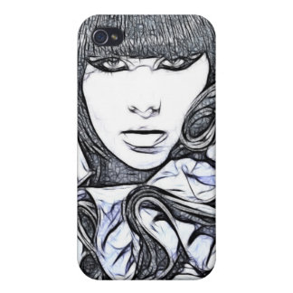 WOMAN IN BEAUTY iPhone 4 COVERS