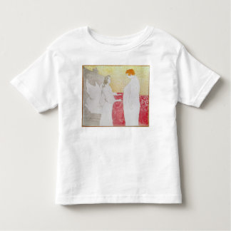 Woman in Bed, Profile - Waking Up, 1896 Toddler T-shirt