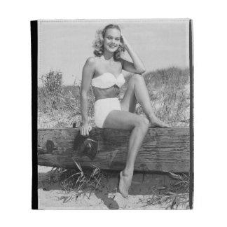 Woman in Bikini iPad Folio Cover