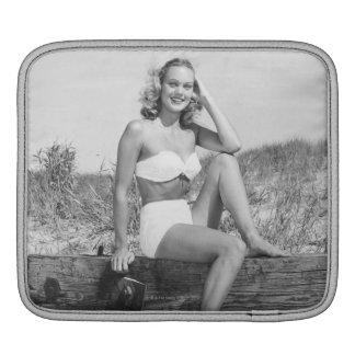 Woman in Bikini Sleeve For iPads