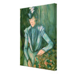 Woman in Blue  1900-02 Canvas Print