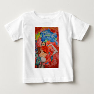 Woman in Boa Baby T-Shirt