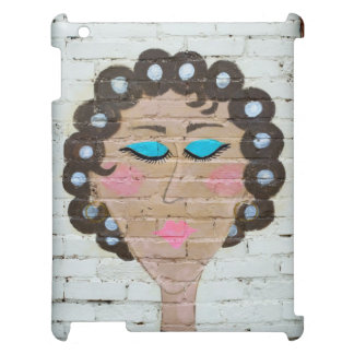 Woman in Curlers Case For The iPad 2 3 4