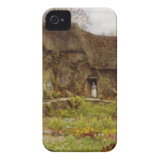 Woman in Dorset Cottage iPhone 4 Cases