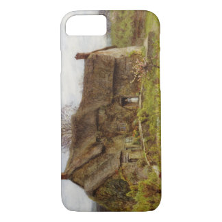 Woman in Dorset Cottage iPhone 8/7 Case