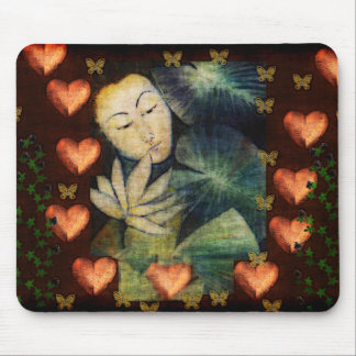 Woman In Dream Mouse Pad