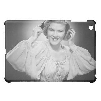 Woman in Dress 2 Case For The iPad Mini