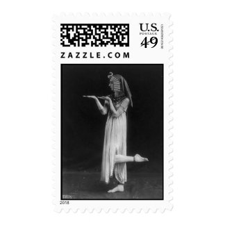 Woman in Egyptian Costume Stamps