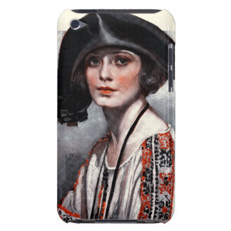 Woman in Embroidered Blouse Case-Mate iPod Touch Case