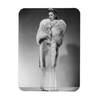 Woman in Evening Gown 2 Magnet