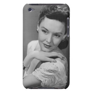 Woman in Evening Gown Barely There iPod Covers