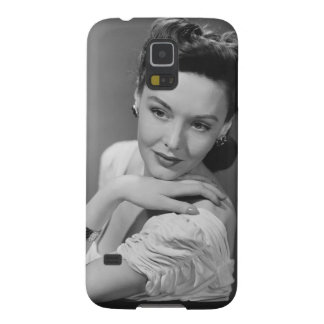 Woman in Evening Gown Galaxy S5 Covers