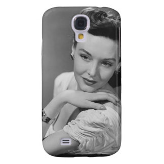 Woman in Evening Gown Samsung Galaxy S4 Case