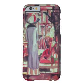 Woman in front of a large illuminated window iPhone 6 case