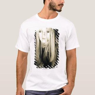 Woman in gothic fashion T-Shirt