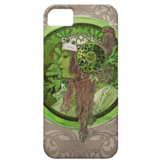 Woman in Green - LAUREL iPhone SE/5/5s Case