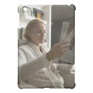 Woman in hairdressing salon iPad mini cover